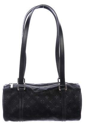 Louis Vuitton Monogram Satin Mini Papillon Bag