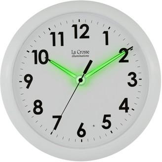 La Crosse Technology La Crosse Illuminations 10-in. Wall Clock