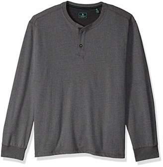 G.H. Bass & Co. Men's Carbon Henley Long Sleeve Shirt