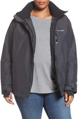 Columbia Alpine Action Waterproof Omni-Heat(R) Hooded Jacket