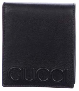 Gucci Embossed Bifold Wallet