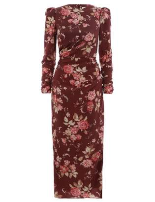 Zimmermann Unbridled Draped Dress