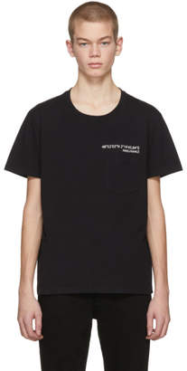 Valentino Black Anywhen Coordinates Pocket T-Shirt