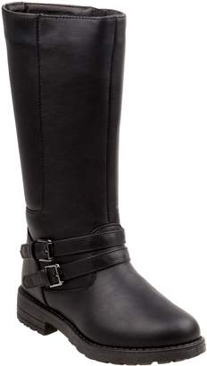 KensieGirl Tall Studded Buckle Boot