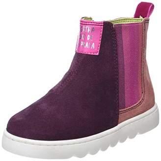 Agatha Ruiz De La Prada Girls' 181952 Ankle Boots, Pink y Vino/Carmin, 9UK Child