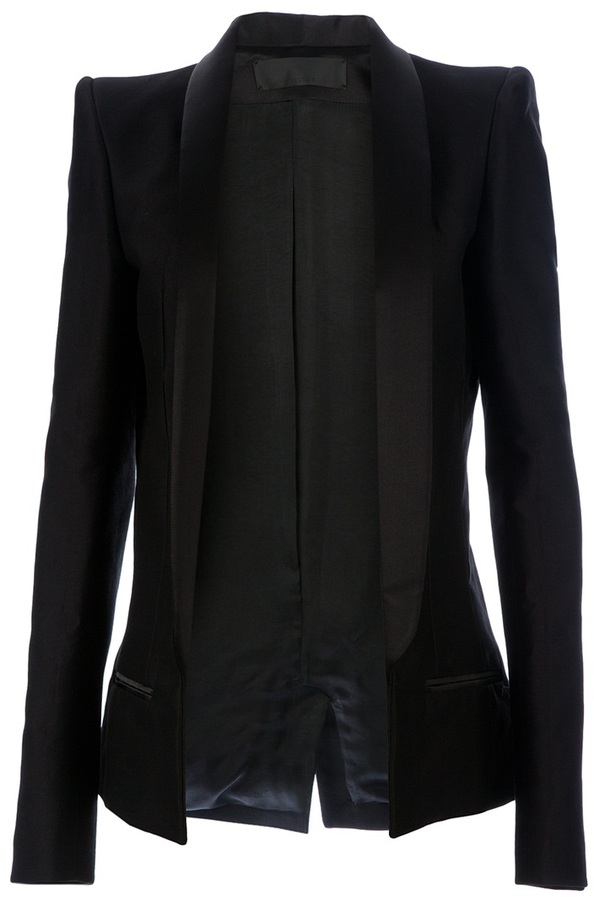 Haider Ackermann loose fit jacket