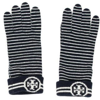 Tory Burch Tory Burch Striped Print Gloves w/ Tags