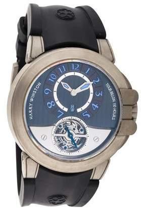 Harry Winston Ocean Tourbillon Watch