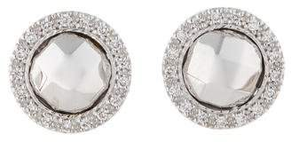Charriol Diamond Halo Earrings