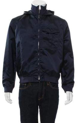 J.W.Anderson Satin Zip-Front Jacket