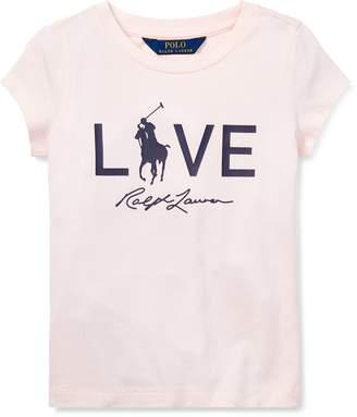 Ralph Lauren Pink Pony Live Love T-Shirt