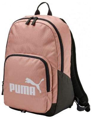 Puma Phase Sports Backpack Rucksack Bag - Peach