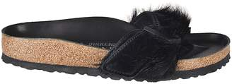 Rick Owens Fur Sliders