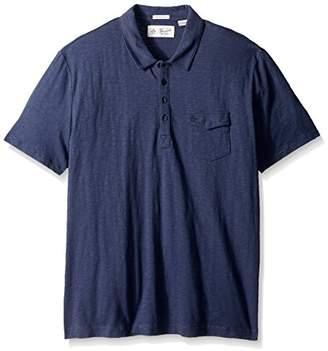Original Penguin Men's Short Sleeve Denim Effect Jack 2.0 Shirt