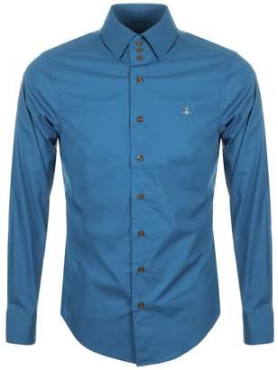 Vivienne Westwood Long Sleeved Shirt Blue