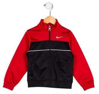 Nike Boys' Lightweight Zip-Up Jacket
