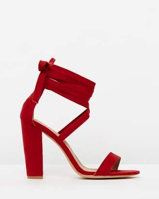 Spurr Roman Lace-Up Heels