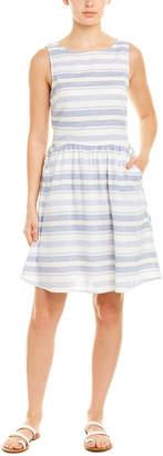 BeachLunchLounge Linen-Blend A-Line Dress
