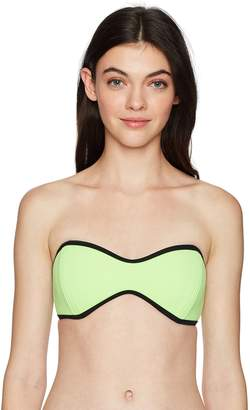305137156e Body Glove Women s Tainted Love Molded Cup Bandeau Bikini Top Swimsuit