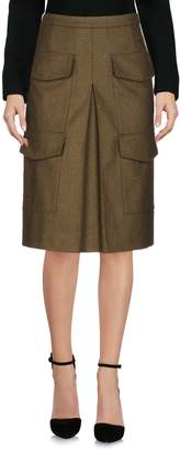 White Mountaineering Knee length skirts