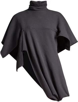 J.W.Anderson Asymmetric high-collar jersey sweatshirt