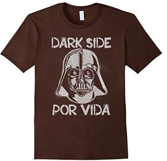 Star Wars Vader Dark Side Por Vida For Life Graphic T-Shirt