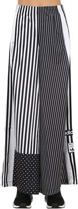 adidas Printed Patchwork Cotton Pants