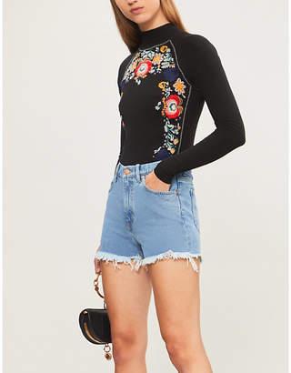 MiH Jeans x Bay Garnett Golborne Road Bay high-rise flared jeans
