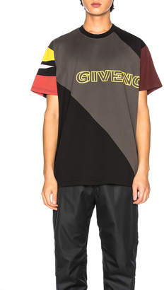 Givenchy Oversized Sport Tee in Black | FWRD