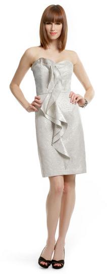 David Meister Silvery Sass Dress