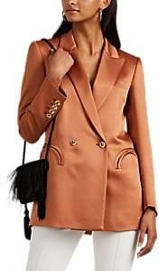 BLAZÉ MILANO Women's Everyday Double-Breasted Blazer - Rust