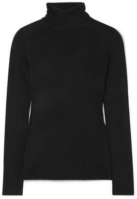 Totême Navais Merino Wool Turtleneck Sweater - Black