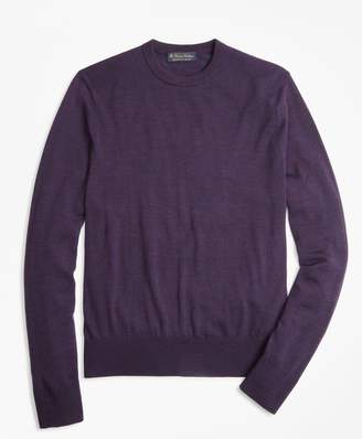 Brooks Brothers BrooksTech Merino Wool Crewneck Sweater