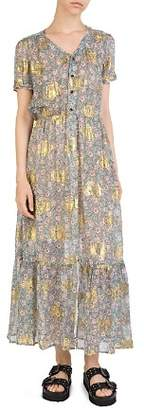 The Kooples Western Flowers Maxi Dress