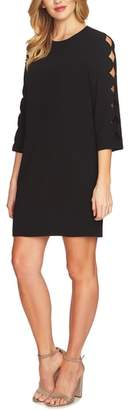 CeCe Cutout Sleeve Shift Dress