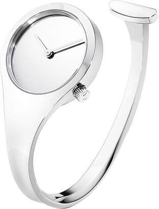 Georg Jensen Vivianna stainless steel bangle watch 27mm