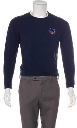 Kenzo Embroidered Crew Neck Sweater