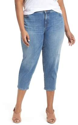 Eileen Fisher Tapered Crop Jeans