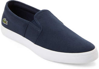 Lacoste Canvas Slip-On Shoes