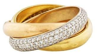 Cartier Diamond Trinity Ring white Diamond Trinity Ring