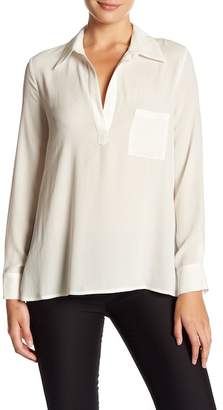 Pleione Long Sleeve Blouse $68 thestylecure.com