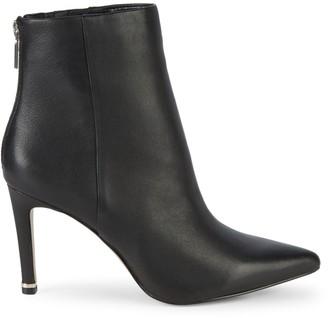 Kenneth Cole New York Raine Leather High-Heel Booties