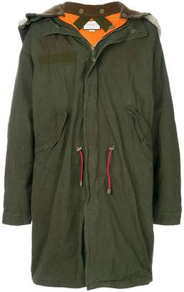 Gucci oversized retro parka coat