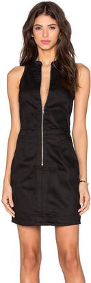 G-Star Core Slim Zip Dress $170 thestylecure.com
