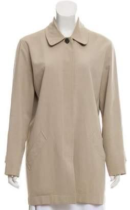 Chanel Short Twill Coat