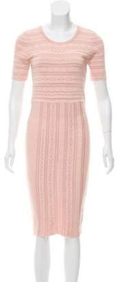 Ronny Kobo Patterned Midi Dress