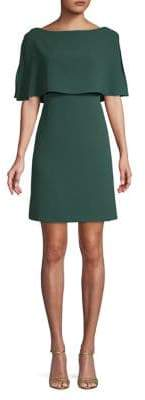 Adrianna Papell Woven Popover Dress