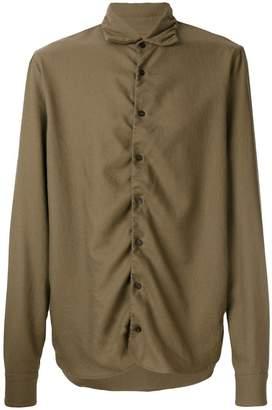 Marni ruched detail shirt