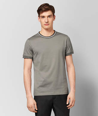 Bottega Veneta DARK CEMENT COTTON T-SHIRT