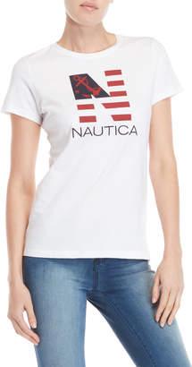 Nautica Big Logo Tee